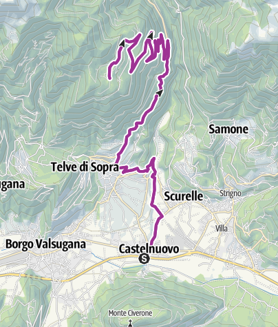 Karte / eBike - Val Calamento