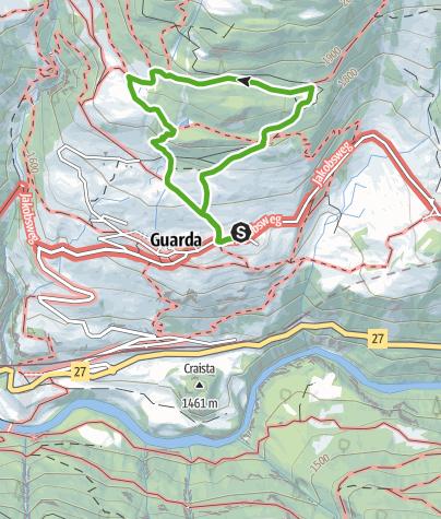 Karte / Schellen-Ursli-Weg