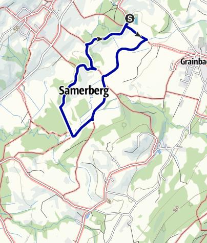Karte / Am Samerberg - der Filzenrundweg - Weg Nr. 63