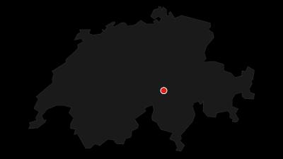 Kaart / Familienwanderung Oberalppass - Tschamut