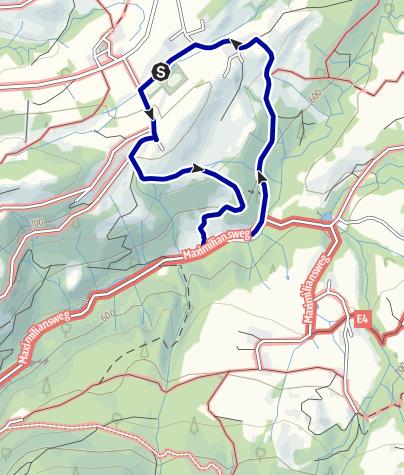 Karte / Samerberg - ins Mühltal - Rundweg Nr. 59