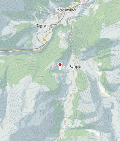 Map / Hängebrücke aus Lärchenholz