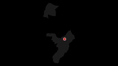 Karte / Rundum-Panorama auf dem Monte Monte Casale