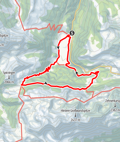 Karte / Wanderbus-Tipp: Gnadenalm - Südwienerhütte - Hirschwandsteig