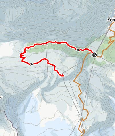 Map / Bike tour Furi - Schwarzsee (Nr. 21)