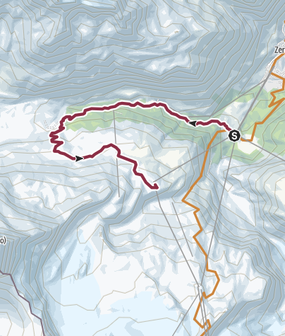 Karte / Bike-Tour Furi-Schwarzsee (Nr. 21)