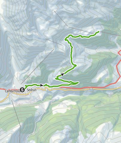 Karte / Panoramawanderung Bostg