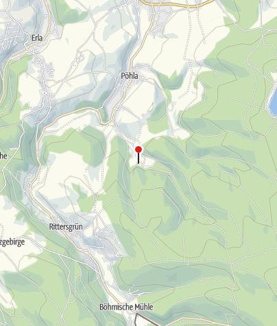 Karte / Besucherbergwerk Zinnkammern Pöhla