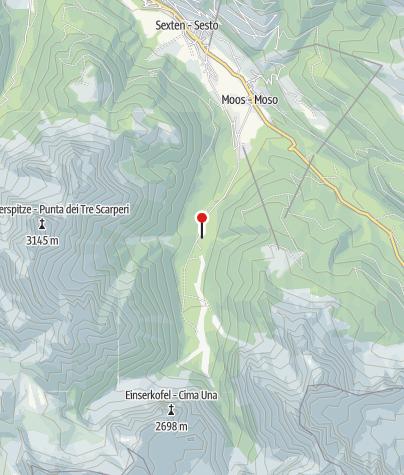Mappa / Fischleinbodenhütte 1454 m