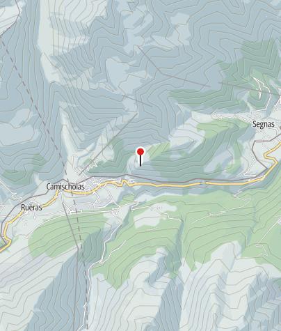 Map / Ruhebank oberhalb von Bugnei