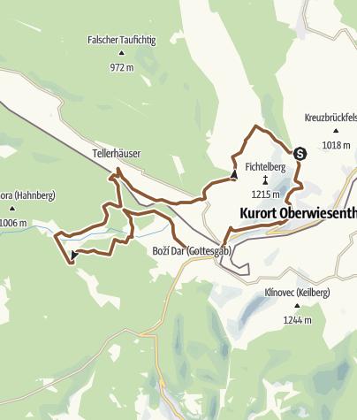 Map / Jens-Weißflog-Tour