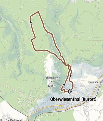 Map / Gabriele-Kohlisch-Tour