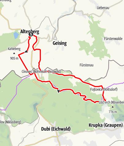 Karte / Mückentürmchen-Bike-Tour