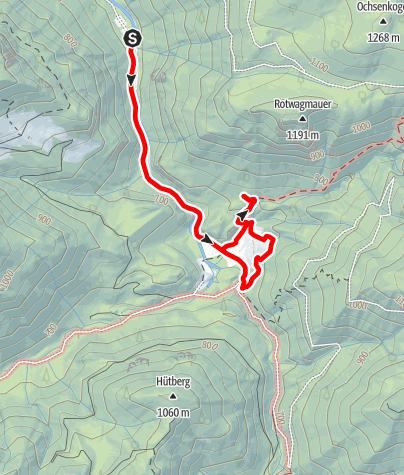 Karte / Erlebnisweg Wasser-Spuren (Bodinggraben)