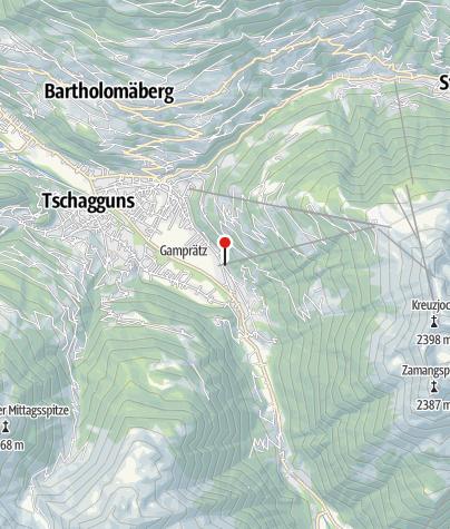 Karte / Gästehaus Flöry
